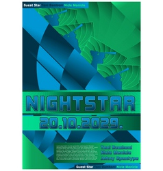 Sport event poster design baseball vector