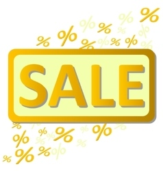 Sale percents vector
