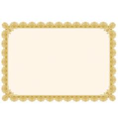 Classic border frame editable vector