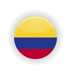 Colombia icon circle vector