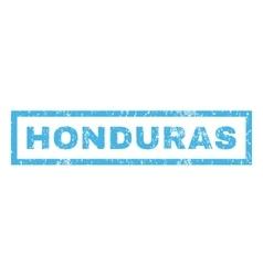 Honduras rubber stamp vector