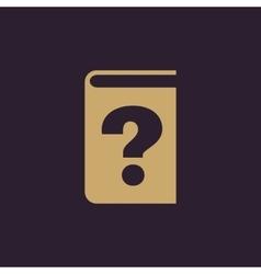 Questionnaire faq icon design quizz vector