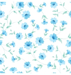 Chicory seamless pattern vector