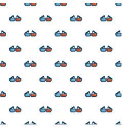 3d cinema glasses pattern vector