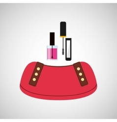 Female makeup design vector