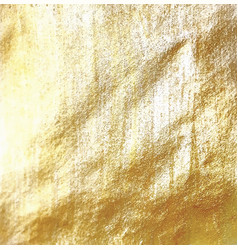Golden foil background vector