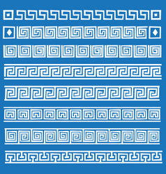 greek ornament vector image