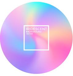 iridescent background vector image