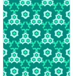 psychedelic abstract colorful green cyan seamless vector image