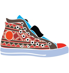 Sport shoes design vector image vector image