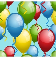 Balloon seamless vector image