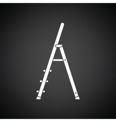 Construction ladder icon vector