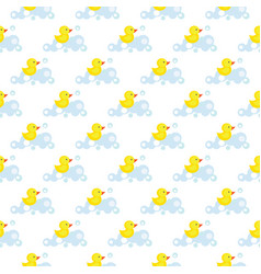 seamless pattern of yellow vector image vector image