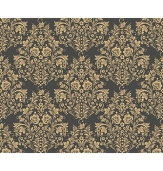 Damask seamless pattern for design vector