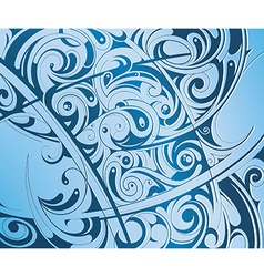 Backdrop with waves vector image