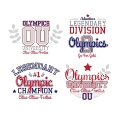Fan art olympics vector