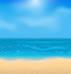 Summer holiday background with sunlight vector