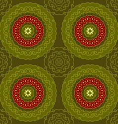 Circle pattern indian vector