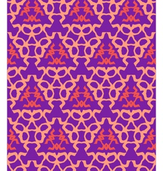 Psychedelic abstract colorful violet red cream vector