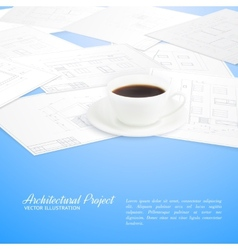 Design architecture vector image vector image