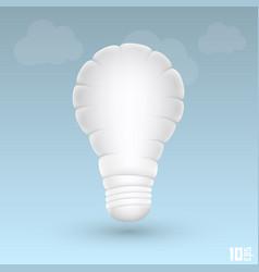 light cloud vector image vector image
