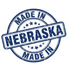 Made in nebraska vector