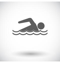 Pool icon vector