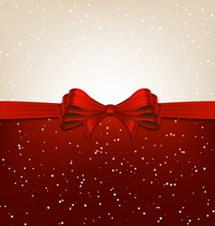 Red Christmas Design vector image vector image