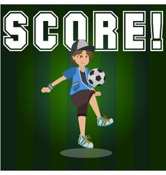 score vector image vector image