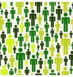 Green social media pattern vector