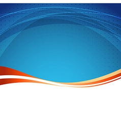 Abstract folder border background vector image