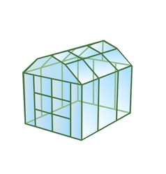 Greenhouse vector