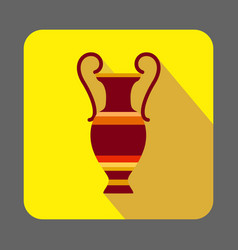 museum ancient vase concept background cartoon vector image