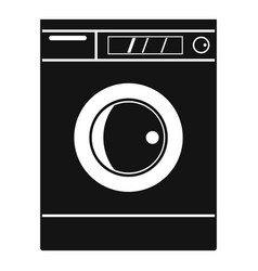 Washing machine icon simple style vector