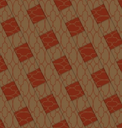 Retro 3d brown stripes crossed vector