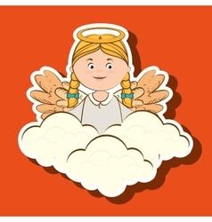 Beautiful angel design vector