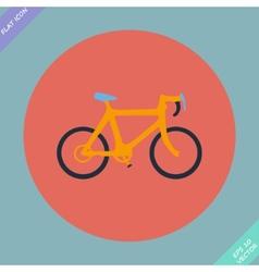 Bicycle icon - vector image vector image