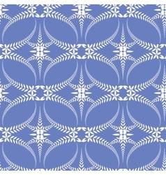 Seamless laurel wreath pattern Spiral swirl vector image