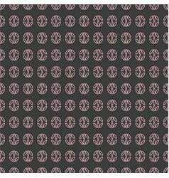 seamless pattern with geometric shapes and symbol vector image
