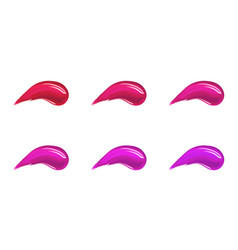 make up foundation cream or liquid lipstick vector image