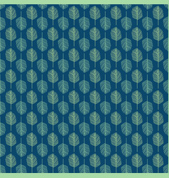 background of leaves pattern vector image vector image
