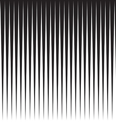 Comic book speed vertical lines background vector image