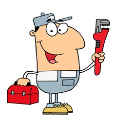 Plumber Man vector image vector image