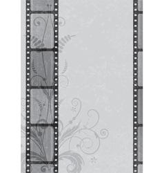 film strip background vector image