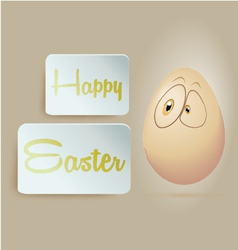 Egg Happy Easter vector image