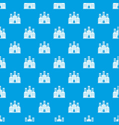 Refinery pattern seamless blue vector