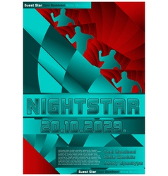 sport event poster design soccer vector image vector image
