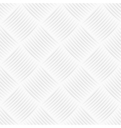 White decorative texture Seamless background vector image vector image