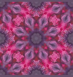 abstract circle ornament vector image