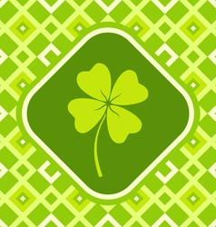 Clover green vector